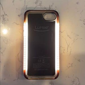 Lumee Selfie Case IPhone 7 8 Kim Kardashian Light